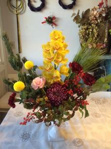 お正月花 (2)